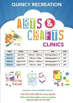 Arts & Crafts Clinics 2020